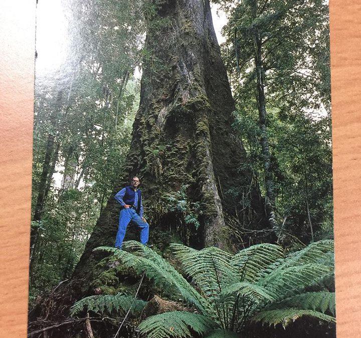 Bob Brown postcard