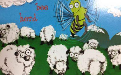 Bee Herd postcard