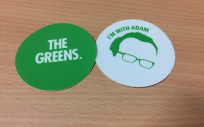 2013 Election Stickers