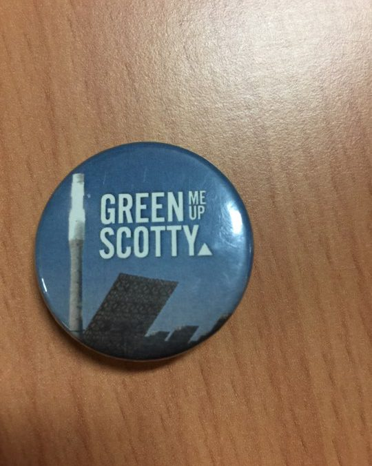 Green Me Up Scotty!